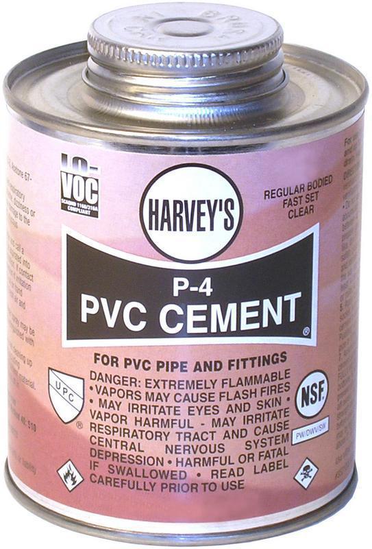018100-24 P-4 4Oz PVC CEMENT