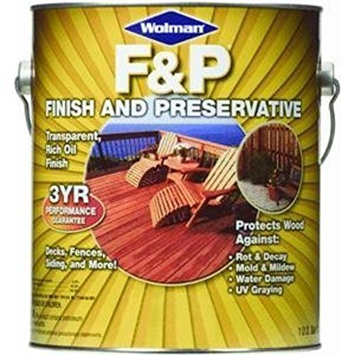 1 Gal. Wolman™ F&P® Finish And Preservative Wood Finish, Redwood