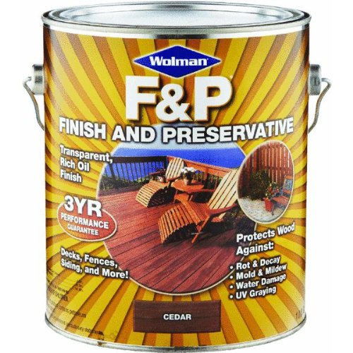 1 Gal. Wolman™ F&P® Finish And Preservative Wood Finish, Cedar