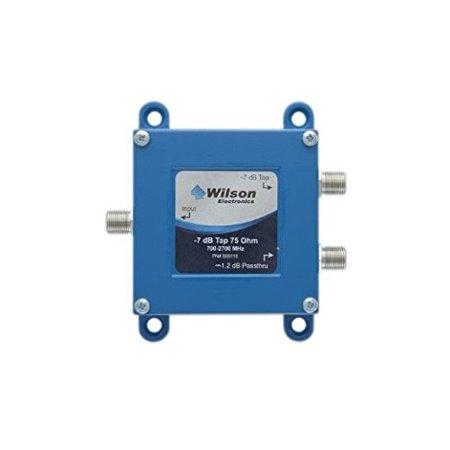 Wilson Electronics 859115 -7dB 2-Way Cellular Signal Tap (75ohm , F-Female Connectors)