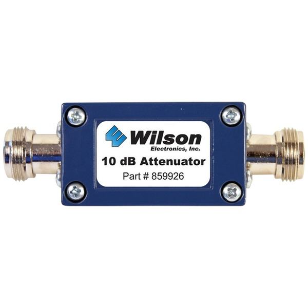 Wilson Electronics 859926 50ohm Cellular Signal Attenuator with N-Female Connectors (10dB)