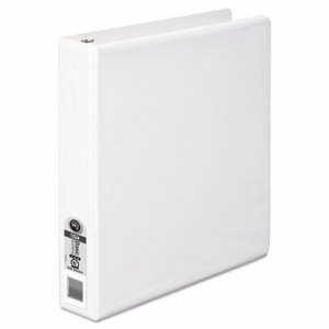 "362 Basic Round Ring View Binder, 1 1/2"" Cap, White"