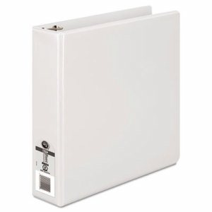 "362 Basic Round Ring View Binder, 2"" Cap, White"