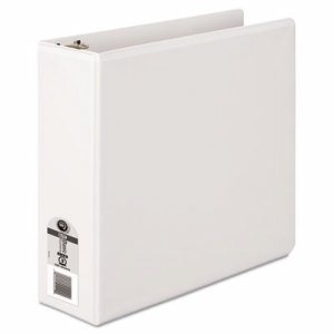 "362 Basic Round Ring View Binder, 3"" Cap, White"