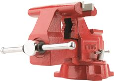 WILTON� UTILITY VISE, 6-1/2 IN. JAW WIDTH, 5-1/2 IN. JAW OPENING, 3-13/16 IN. THROAT DEPTH