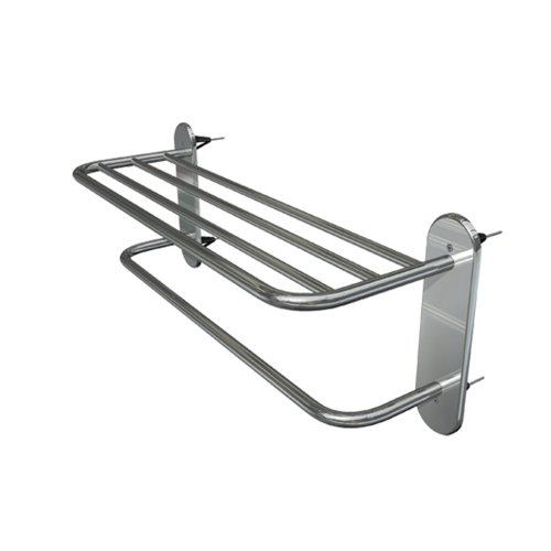 "18"" Wingits Master Towel Rack, Polished Stainless Steel"