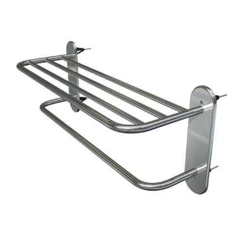 "24"" Wingits Master Towel Rack, Polished Stainless Steel"