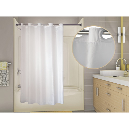WINGINTS PREHOOK� SHOWER CURTAIN, 200 DENIER NYLON, 71 IN. X 74 IN., CHAMPAGNE