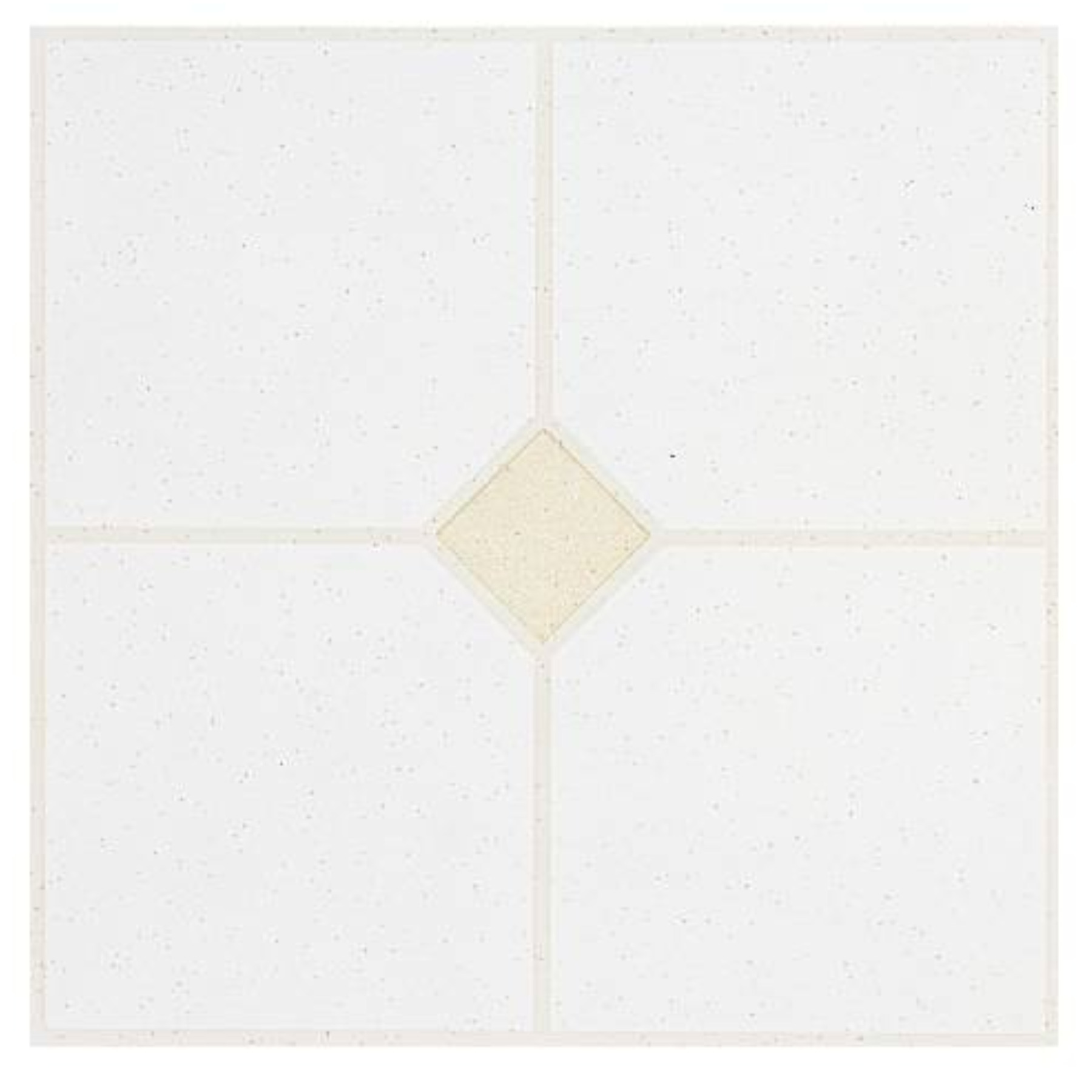 Winton Self-Adhesive Floor Tile, 12X12 In., 1.1 mm, Gray With Sand