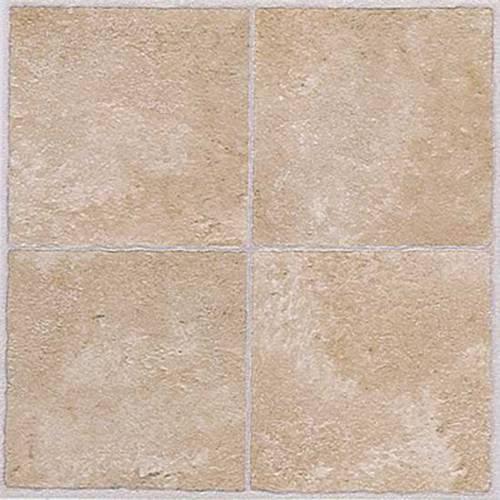 Winton Self-Adhesive Vinyl Floor Tile, 12X12 In., 1.1 mm, Beige