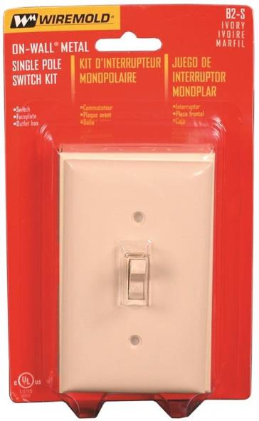 Legrand B2S Switch Kit, 1 in Depth, Ivory