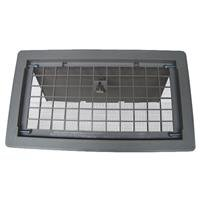 Bestvents 500GR Manual Foundation Vent with Damper, Gray