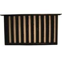 Bestvents 319BL Jumbo Foundation Vent, 9-1/4 X 16 in, Black Oxide