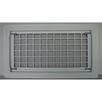 OPEN AIR GRILL FNDTN VENT WHT