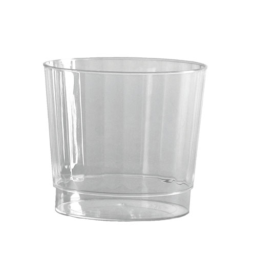 9-oz Rocks Classic Crystal Fluted Tumblers,