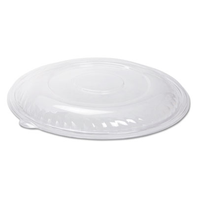 "Caterline Pack n' Serve Lids, Plastic, Clear,12"" Diameter x 1 1/2""High, 25/Ctn"