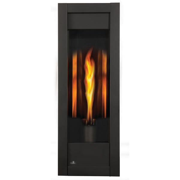 GT8N Torch+Rear Vent Gas Fireplace, Natural Gas