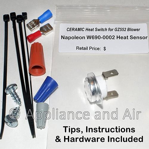 W690-0002 Heat Sensor