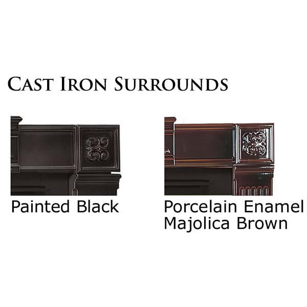 Cisk Cast-iron Surround, Painted Black, Requires AK-1 Kit