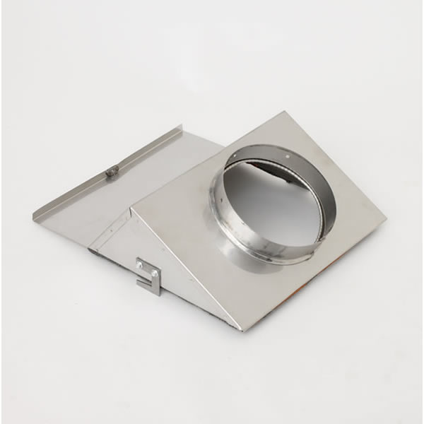 "EPA335KT Stainless Steel Low Clearance Adapter (Insert Boot 6"" ID Collar)"