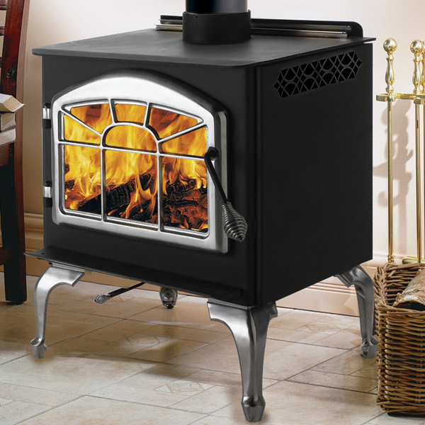 1400PL Napoleon Medium Steel Wood Burning Leg Stove