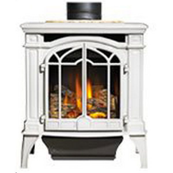 GDS25NWSB Napoleon Cast-Iron Gas Stove, Winter Frost