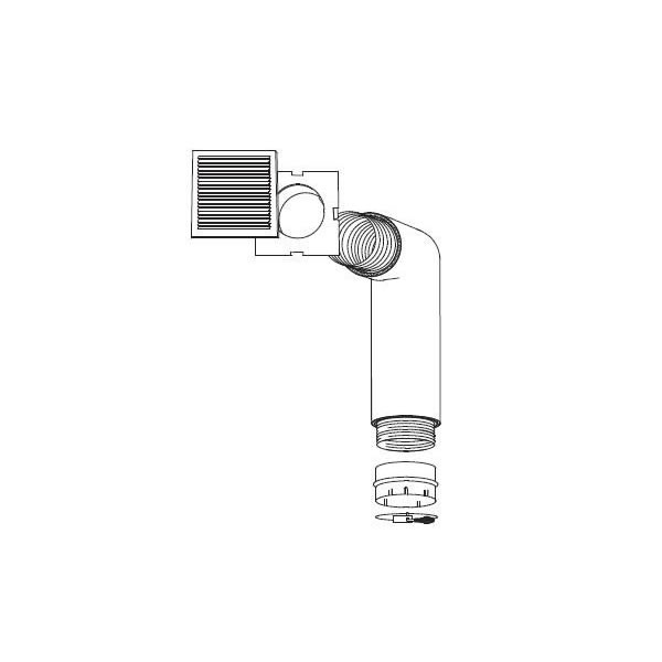 NZ220 Gravity Hot Air Vent Kit