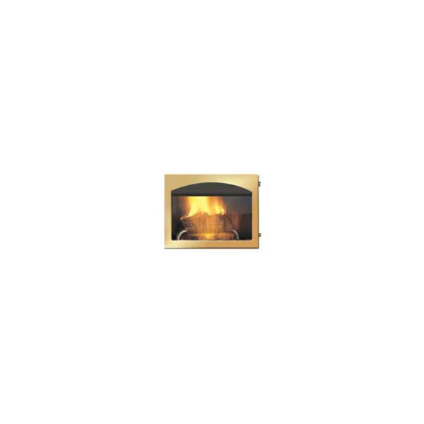 H333-G Arched Door. Gold Plated