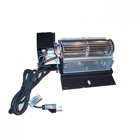 EP65M Blower Kit With Variable Speed And Thermostatic Control, Metallic Black