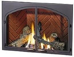 DK44-A-1 Decorative Arch Door Kit. Painted Black