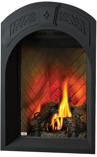 *AFK82 Arched Facing Kit W/Heritage Pattern Painted Black