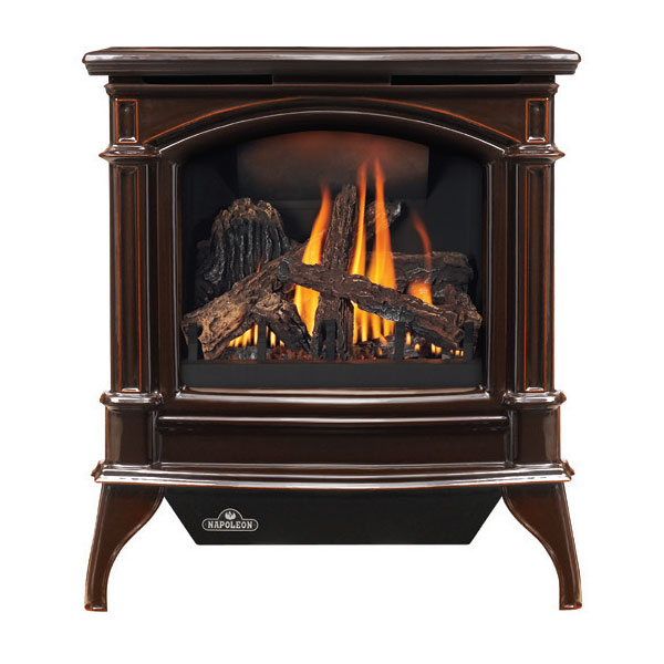GDS60-1NNSB Napoleon Direct Vent Cast-Iron Gas Stove