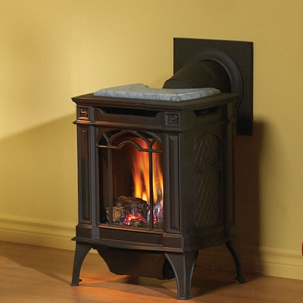 GDS20NSB Napoleon Cast-Iron Gas Stove, Black