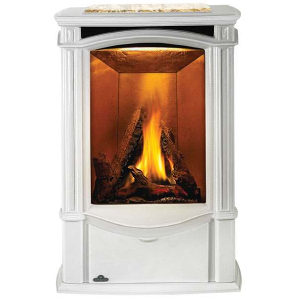 GDS26NWSB Napoleon Cast-Iron Gas Stove, Winter Frost