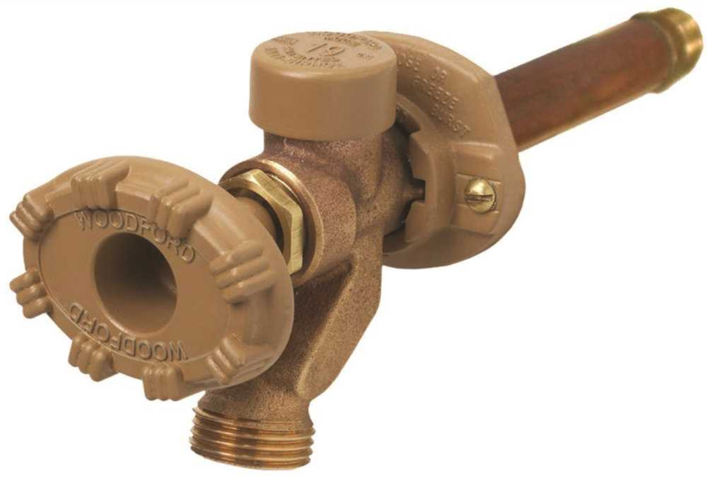 WOODFORD FREEZELESS #19 ANTI-SIPHON WALL FAUCET, 6 IN.