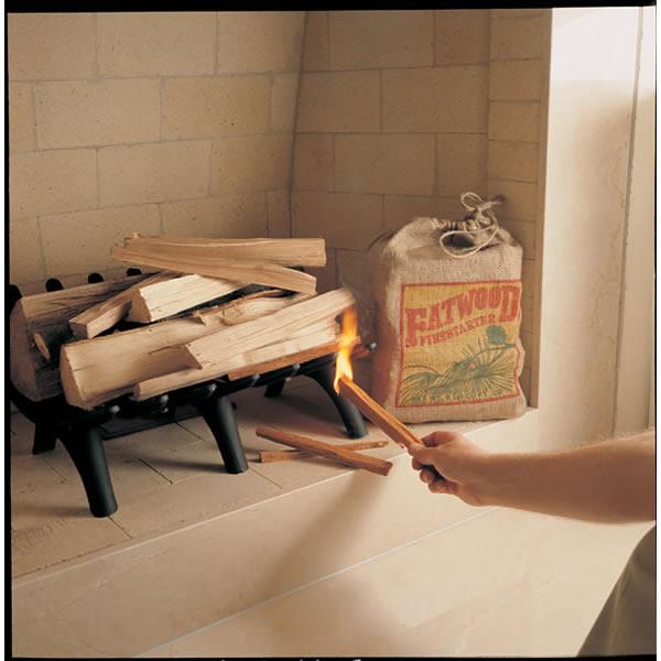 Fatwood Firestarter, 8 lb. Bag