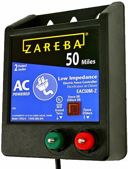 EAC50M-Z 50-MI. FENCE ENERGIZR