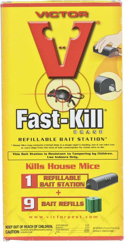 M917 REFILLABLE BAIT STATION