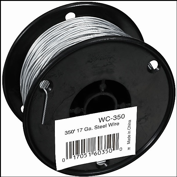 WC-350 350 FT. 17G GALV STEEL WIR