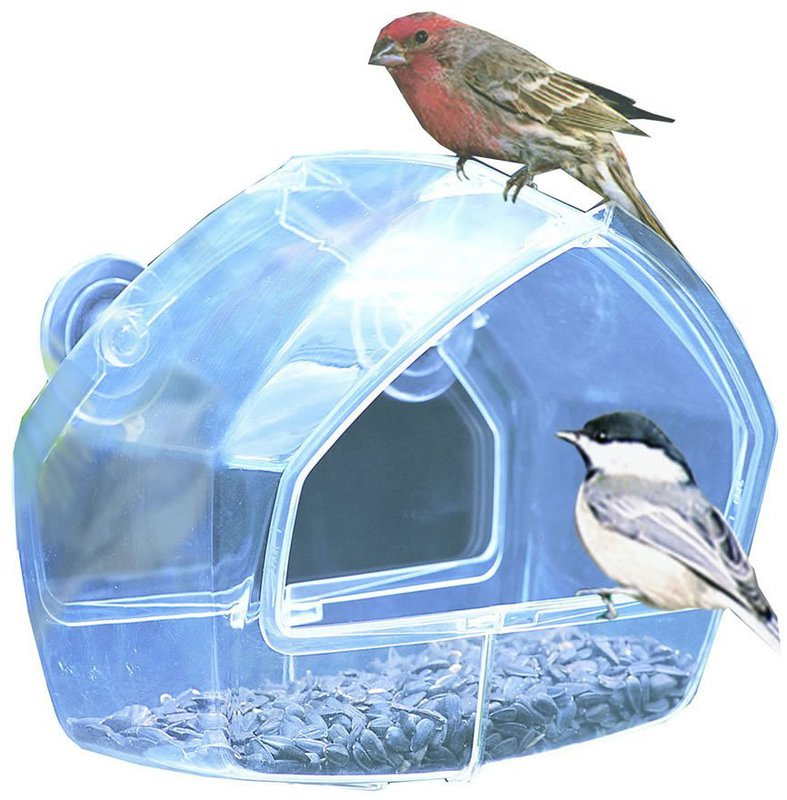 348 WINDOW SEED Bird Feeder