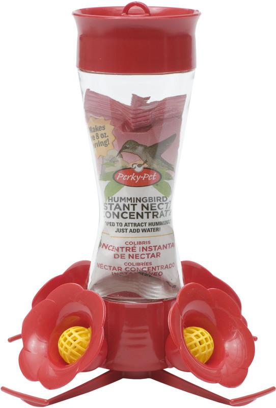 203CPBN 8OZ HUMMINGBIRD FEEDER