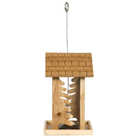 BIRDFEEDER PINERY WOOD 4LB