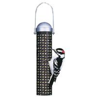 BIRDFEEDER TUBE METAL SUNFLOWER PEANUT 1LB