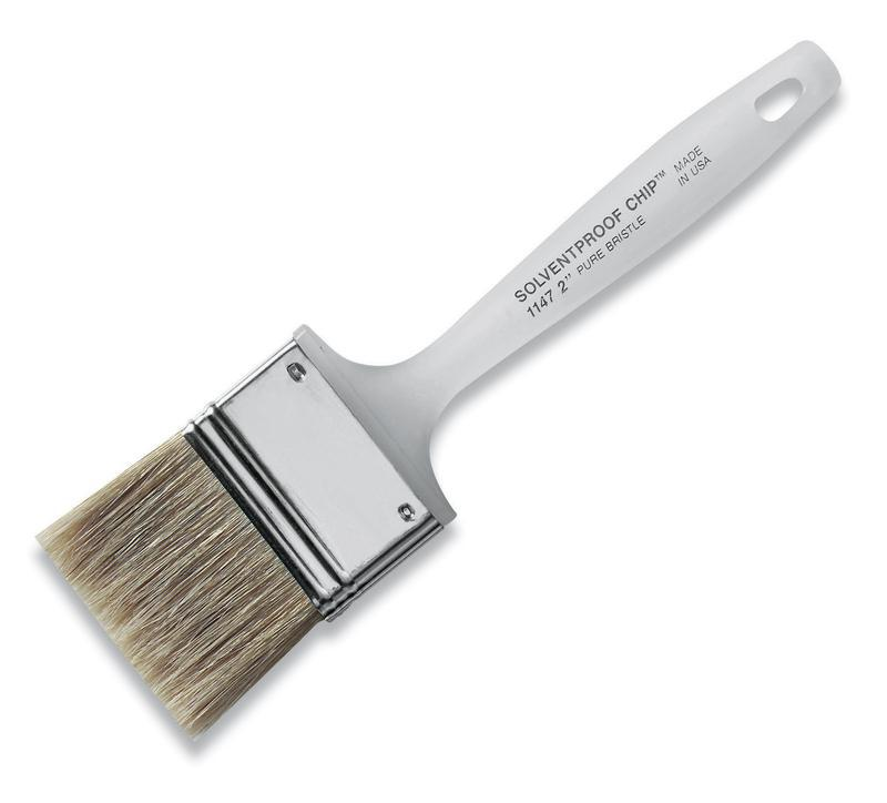 1147 2.5 IN. SOLVENT CHIP BRUSH
