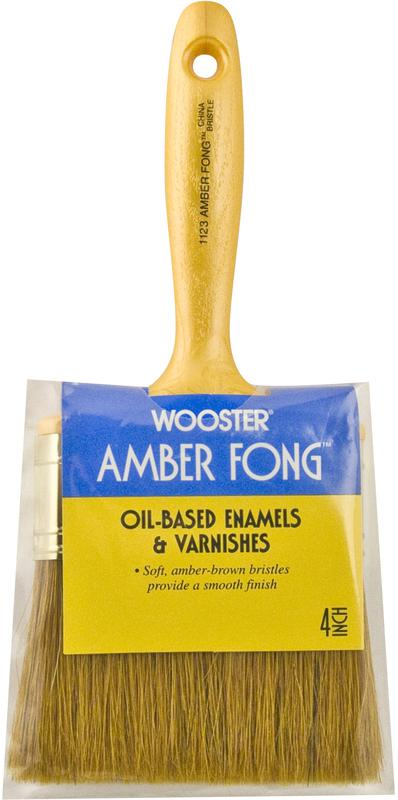 1123-4 4 IN. AMBER FONG BRUSH