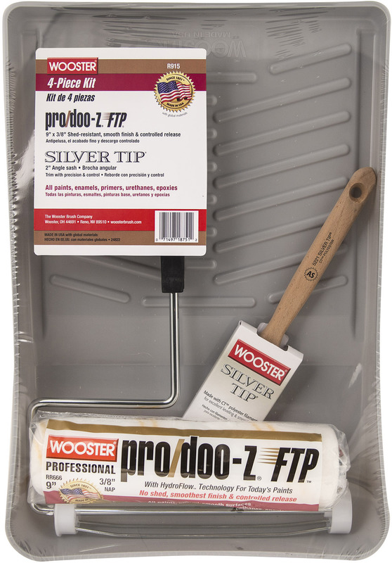 R915 9 IN. PRO DOO-Z FTP RLR KIT