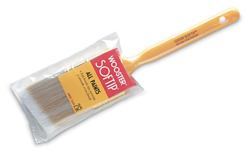 Q3208 1 In. Softip Angle Sash Brush