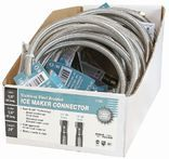 7754 12 IN. STAINLESS STEEL ICE MAKER HOSE