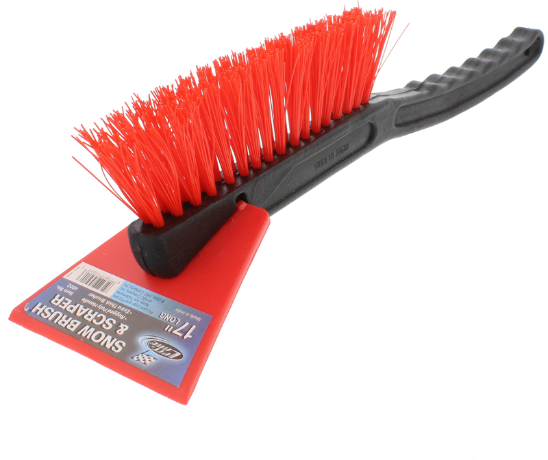 4502 SNOW BRUSH W/SCRAPER