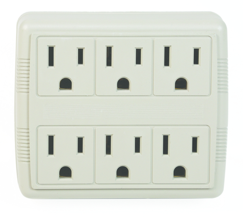 60C 6 OUTLET WALL TAP